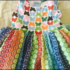 Other - Spring Sweet Petunia Butterfly Twirl Dress